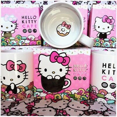 Hello Kitty Cafe Exclusive Mug Original Design Sanrio Kawaii