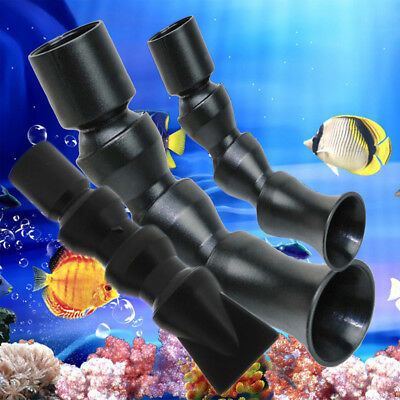 Flexible Aquarium Water Outlet Duckbill Return Pipes End Nozzle Tackle 20/25mm