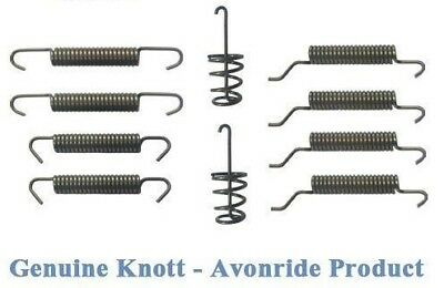Genuine Knott Avonride 520049 Sb020 - 203 X 40 Spring Kit Ifor Williams Style