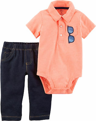 Carters Baby Boys Sunglasses Bodysuit Set