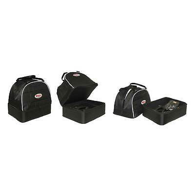 Genuine Bell Helmet & HANS Bag In Black - Race/Racing/Rally/Karting
