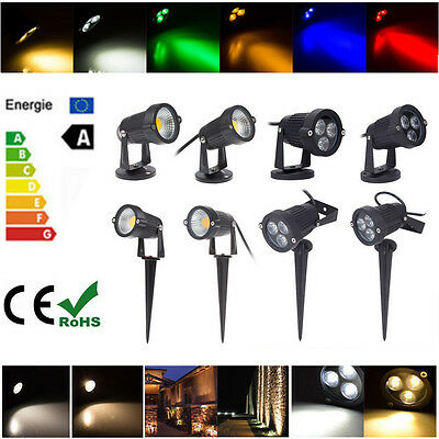 3W 5W 9W LED Landscape Garden Yard Flood Spot Light  Waterproof Outdoor Decor DE