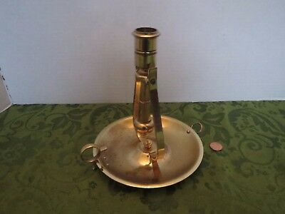 Baldwin Brass Nautical Gimbal Ship Candlestick Candle Holder Wall Sconce