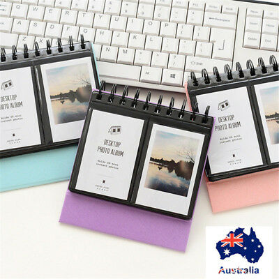3'' 68pcs Mini Photo Album Picture Case For Instax Film Instant Polaroid 7s 8 9