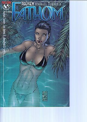 FATHOM PREVIEW ...NM-.... 1998 ..Hard to Find Bargain!