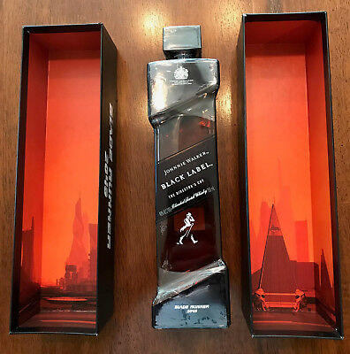 Rare Blade Runner 2049 Edition Johnnie Walker Black Label The Director'S Cut!