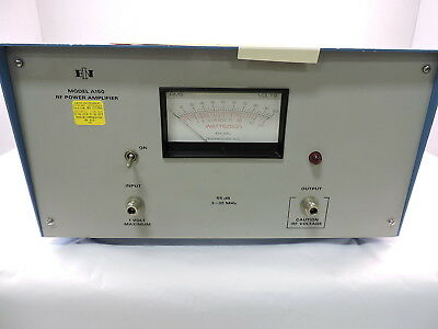 ENI / E&I A150 RF Power Amplifier, 300kHz to 35MHz 150 Watts - 90 Day Warranty