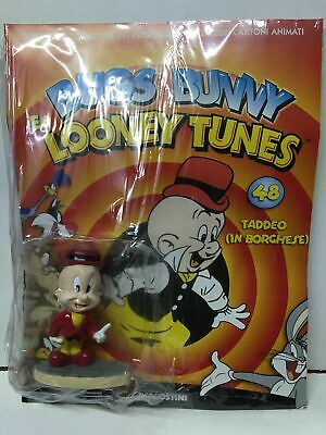 DeAgostini Looney Tunes 3D Figure Collection N. 48 TADDEO IN BORGHESE BLISTERATO