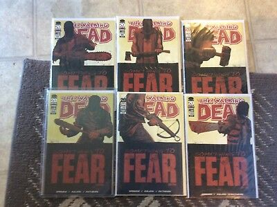 walking dead comics 97 98 99 100 101 102 All Out War