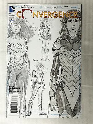 Convergence #2 - 1:100 Variant! VF/NM - David Finch Cover