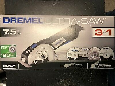 Dremel Ultra-Saw Tool Kit with 4 Accessories and 1 Attachment - Free Shipping