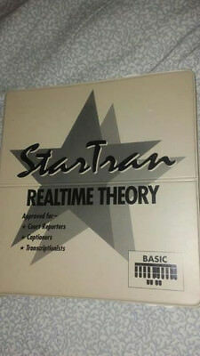 StarTran Steno Realtime Theory Books for Court Reporting & Captioning