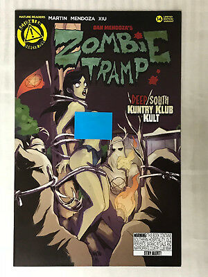 Zombie Tramp #14 - Risque Cover VF/NM - TMChu Cover!