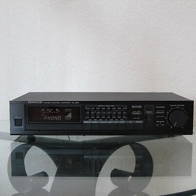 Kenwood KC-206 Stereo Control Pre Amplifier Preamp 7 band Equalizer Phono Japan