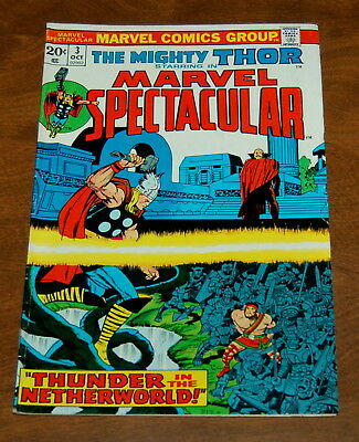 Marvel Spectacular #3 Oct 1973 Fn-/fn The Mighty Thor Lee Kirby!!!!