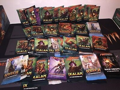 Magic the gathering - Repacks x15 cards - Planeswalkers / rares / Mythics - MTG