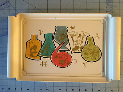 "Vintage Roerig pharm. heavy gauge plastic pill counting tray, 16.25""x10.25"""