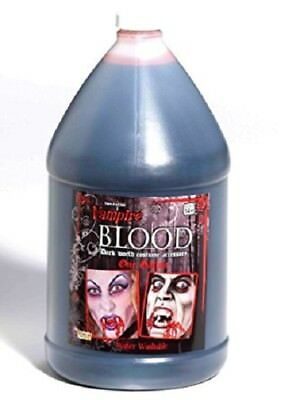 Gallon Of Fake Blood, FX Blood, Haunted House, Halloween, Zombie Crawl, Moulage