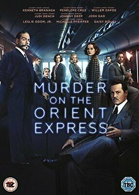Murder On The Orient Express [DVD] [2017] - DVD  PXVG The Cheap Fast Free Post
