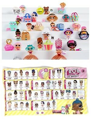 Lol Surprise Lil Little Sisters Series 3 Wave 1 & 2 Choose Pick 1 Doll L.O.L NEW