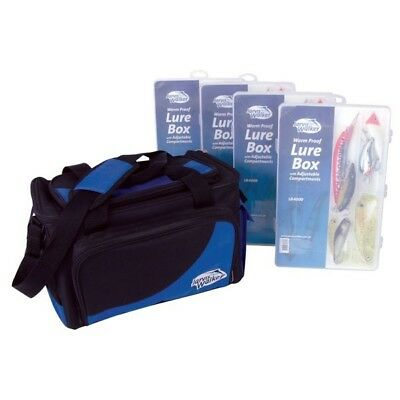 Jarvis Walker Large Soft Side Lure Bag with boxes BRAND NEW @ Ottos Tackle World