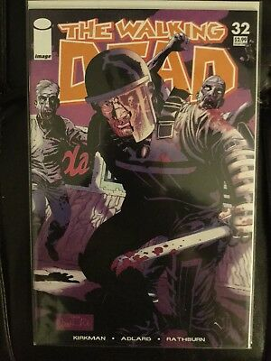 The Walking Dead 32 1st Print Image Comics Kirkman Adlard Rathburn November 2006