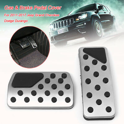 Gas & Brake Pedal Cover For Jeep Grand Cherokee Dodge Durango 2011-2017 82212055
