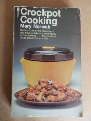 Crockpot Cooking by Norwak, Mary Paperback Book The Cheap Fast Free Post