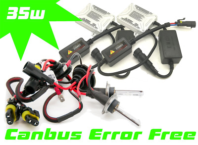 35W H7 Canbus Xenon Hid Gas Discharge Kit Spare Part For Vauxhall Meriva 3/2010