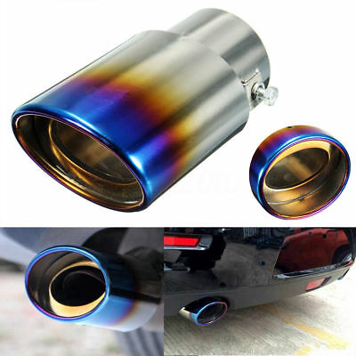 Sale Universal 1PC Tools vehicles Muffler Tip Grilled Blue Exhaust Pipe 2.5inch  sc 1 st  PicClick UK & NEW VEHICLES Replacement Muffler Tip Grilled Blue Hot Exhaust Pipe ...