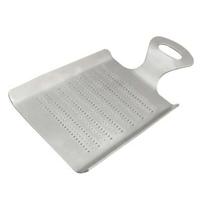 Stainless steel silver Garlic Grater Ginger Grater Garlic Ginger Grater Kit C9S8