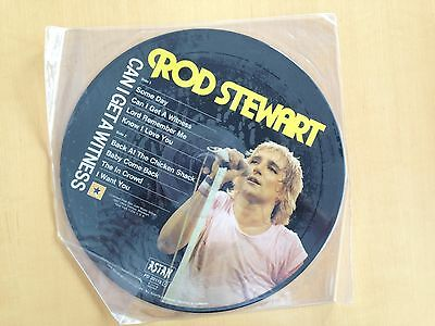 Rod Stewart Picture Disc LP Vinyl Can I get a witness 1984 TOP!!!