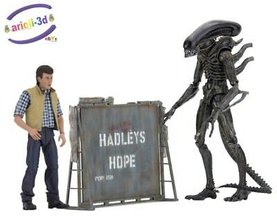 "NECA ALIENS CARTER J BUKE HENOMORPH WARRIOR Hadleys Hope 7"""" Scale Action Figure"