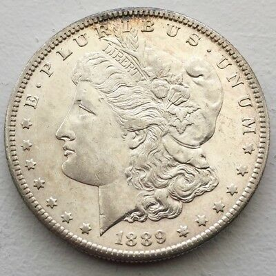 Excellent Key Date 1889-S $1 Morgan Silver Dollar - Priced to Sell!