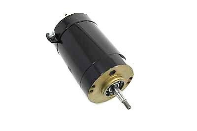 Black 12 Volt 2-Brush Generator For Harley By V-Twin Mfg