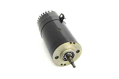 Black 6 Volt 2-Brush Generator With Standard Output For Harley By V-Twin Mfg