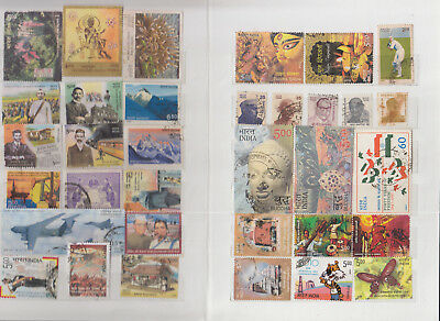 Small stockbook containing India / Bhutan / Sri Lanka & other asia stamps