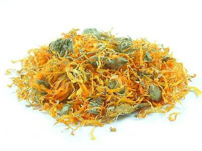 DRIED MARIGOLD FLOWERS pet snacks or decorative edible flowers 100g