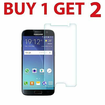 2x Tempered Glass Screen Protector For Samsung Galaxy S7 G9300 New