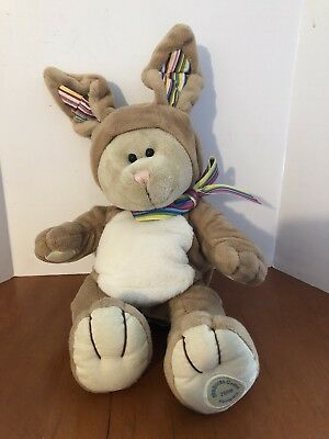 Starbucks Coffee Bearista Bear 2008 Bunny Rabbit 75th Edition Plush