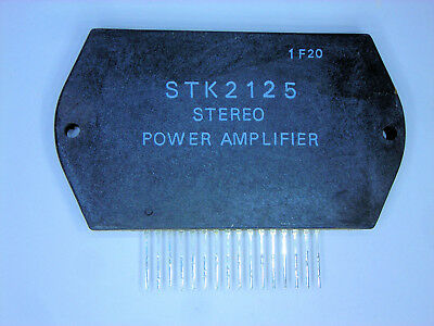 "STK4151V /""Original/"" SANYO  Stereo Amplifier 18P SIP IC  1  Pc"
