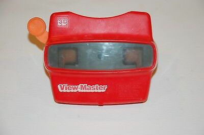 Vintage Red GAF Viewmaster 3D View-Master Viewer Toy Made In USA, Free Shipping