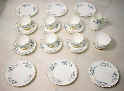 Royal Doulton 20-Piece Antique Old Bone China Tea Set-Used-Very Good-Free Post