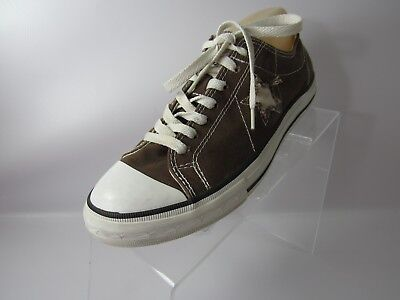 CONVERSE ONE STAR SIZE 9M Brown LACE UP LOW TOP Sneaker SHOES WOMEN'S