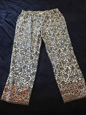 Talbots 16w Snazzy Print Pant Slacks BRAND NWT EXCELLENT CONDITION SHIPPED FREE