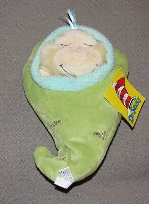 Manhattan Toy Dr. Seuss Sweet Baby WHO Snuggle Pod Plush Doll Discontinued NEW