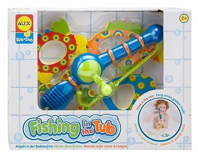 ALEX Toys Fishing in the Tub -  Children's Bath time Toy Set