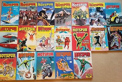 19x Hotspur Books for Boys collection only from sheffield