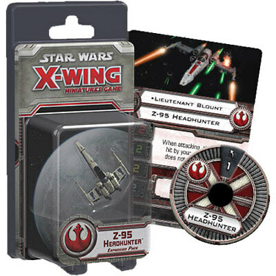 Star Wars - X-Wing Miniatures Game - Z-95 Head Hunter Expansion Pack NEW