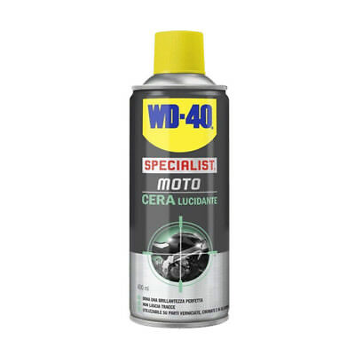Wd-40 Wd40 Specialist Moto Cera Lucidante 400 Ml Spray Ultra Brillante